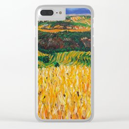 A Day in Tuscany Clear iPhone Case