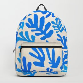 Collage of Leaves, #4- Oceania, by Henri Matisse Backpack