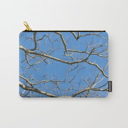 Leafless Tree Branches Against Blue Sky Carry-All Pouch