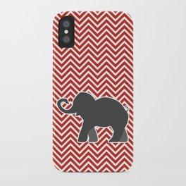 Roll Tide Elephant Crimson Tide Alabama iPhone Case