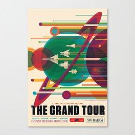 Grand Tour NASA Travel Canvas Print
