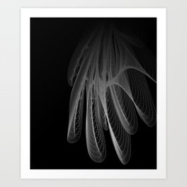 Datadoodle Art Print