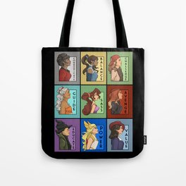 She Series Collage - Version 4 Tote Bag