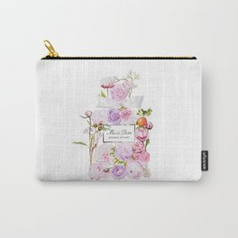 Parfum Perfume Fashion Floral Flowers Blooming Bouquet Carry-All Pouch