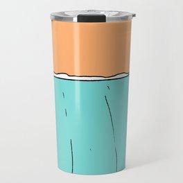lady slide glassy land of lefts Travel Mug