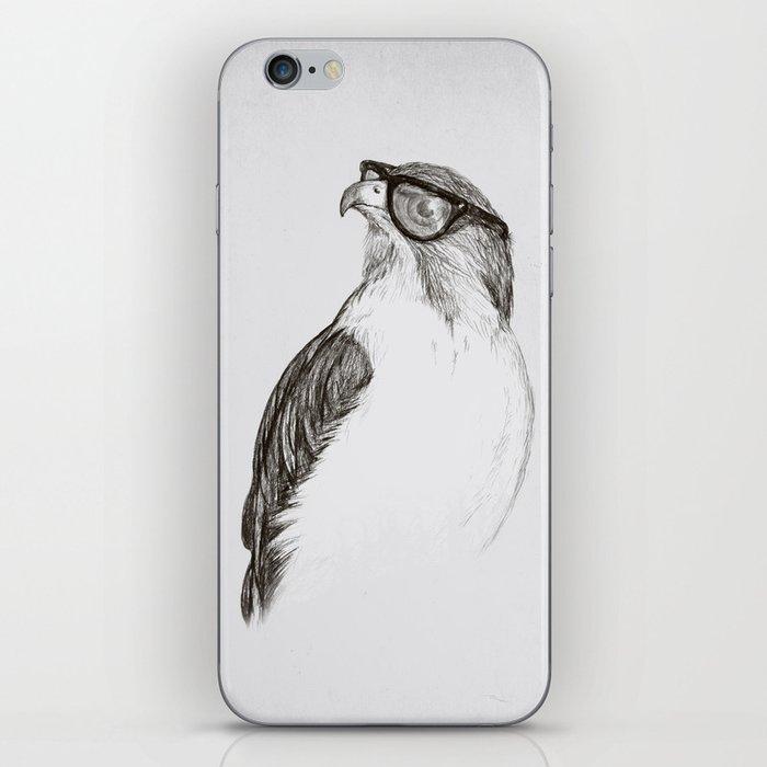 Hawk with Poor Eyesight iPhone Skin