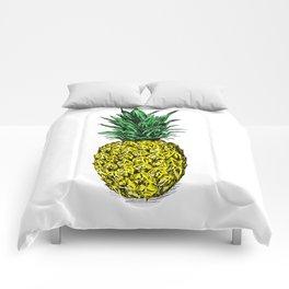 Pineapple Image Comforters