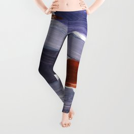 abstract painting XV Leggings