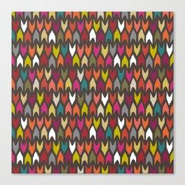 arrow multi Canvas Print