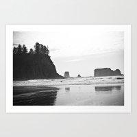 La Push Beach #2 - La Push, WA (4) Art Print