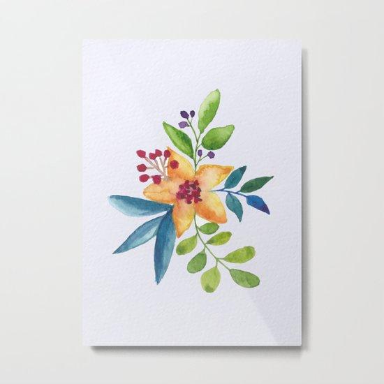 Flowers -a6 Metal Print