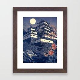 Himeji-jo Framed Art Print