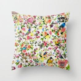 Hello Summer 2 Throw Pillow