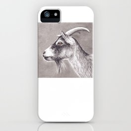 Little goat iPhone Case