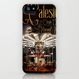 La calesita iPhone Case