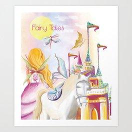 Fairy Tales Art Print