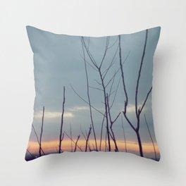 Dreamy Sunrise Throw Pillow