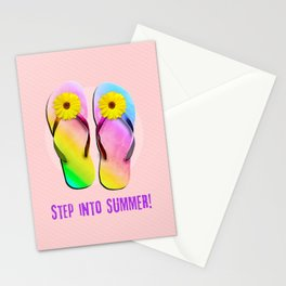 Step into Summer! Stationery Cards