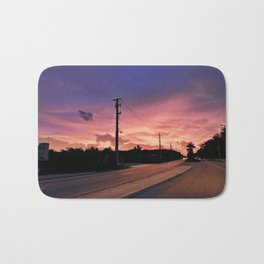 Miami Sunrise Bath Mat