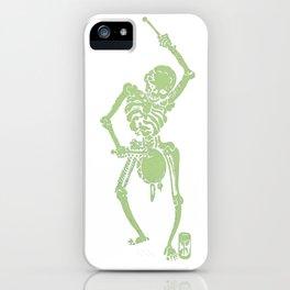 Green Faust Skeleton II iPhone Case