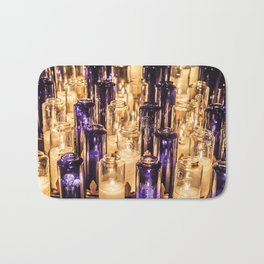 Cathedral Candles Bath Mat