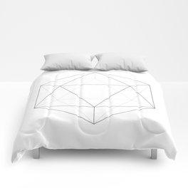 Icosahedron Comforters