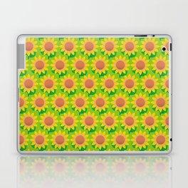 Sunflower Pattern_H Laptop & iPad Skin