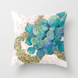 Sea Bulbs Throw Pillow