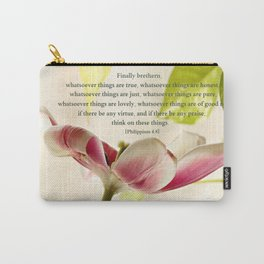 Whatsoever Things Are True Carry-All Pouch