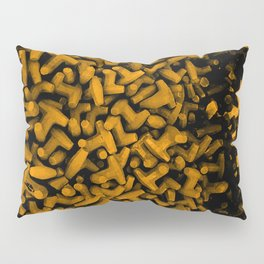 Cluster of Tetrapods (COLORS 2.2) Pillow Sham