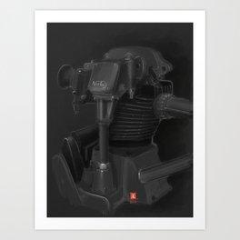 Vintage Norton Motor Art Print