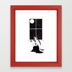 Lonely Is The Night Framed Art Print