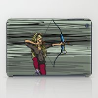 archer iPad Cases featuring Archer by Natalie Easton