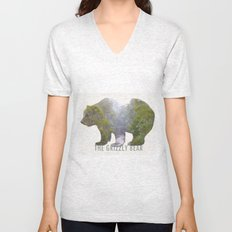 The Grizzly Bear Unisex V-Neck