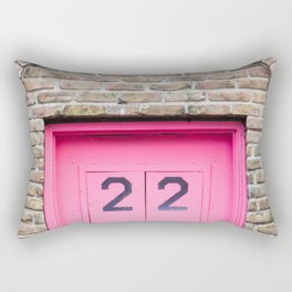 Door Number 22 Rectangular Pillow