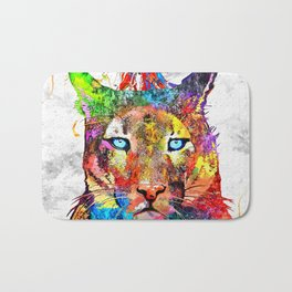 Puma Watercolor Grunge Bath Mat