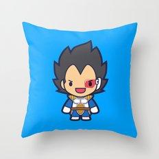 FunSized Vegeta Throw Pillow