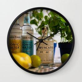 Beautiful Food by Jonas Wall Clock