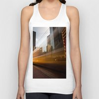 aperture Tank Tops featuring Ghost Train 2 by Mark Alder