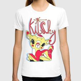 Kitschy deer T-shirt