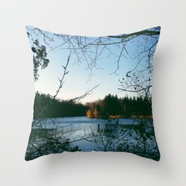 Kingswood Lake Throw Pillow