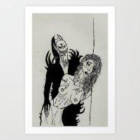 Blood Sucker Art Print