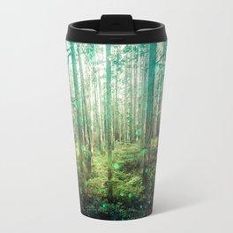 Magical Green Forest Travel Mug