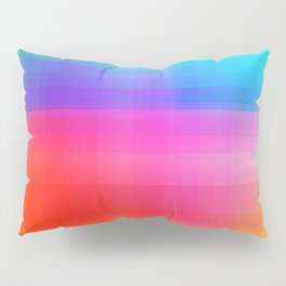 Rainbow Colors Pillow Sham