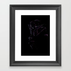 Saren Arterius - Mass Effect Framed Art Print
