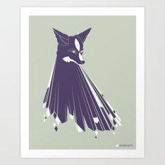 TRUE FOXES Art Print
