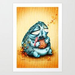 El Gordo y la Golondrina Art Print