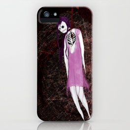 Pin Up - Heartstrings iPhone Case