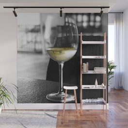 The Lone Companionship of Pinot Noir Wall Mural