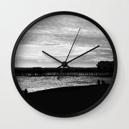 Southsea Beach. Wall Clock